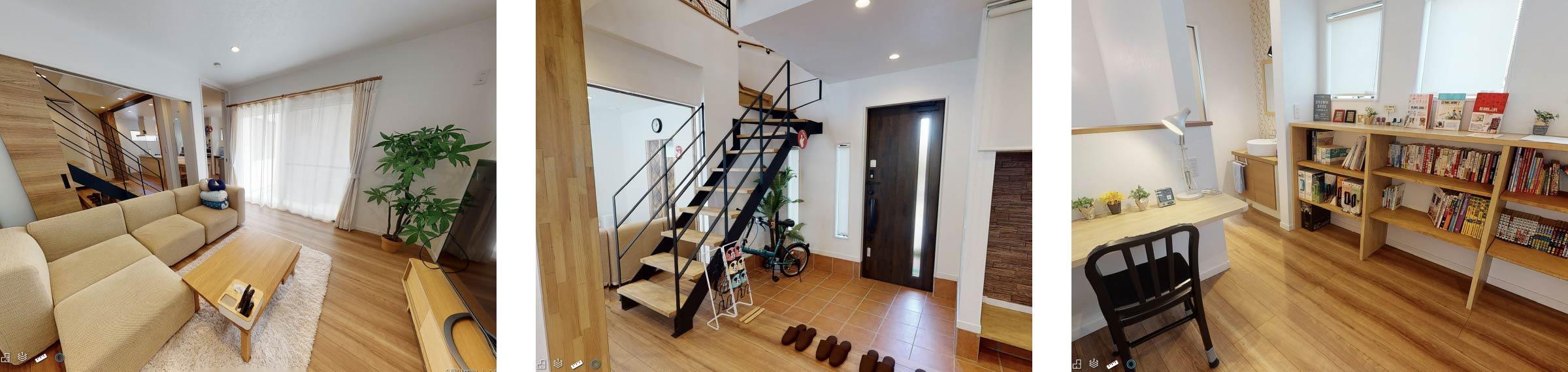 AUCAの宿泊型モデルハウス