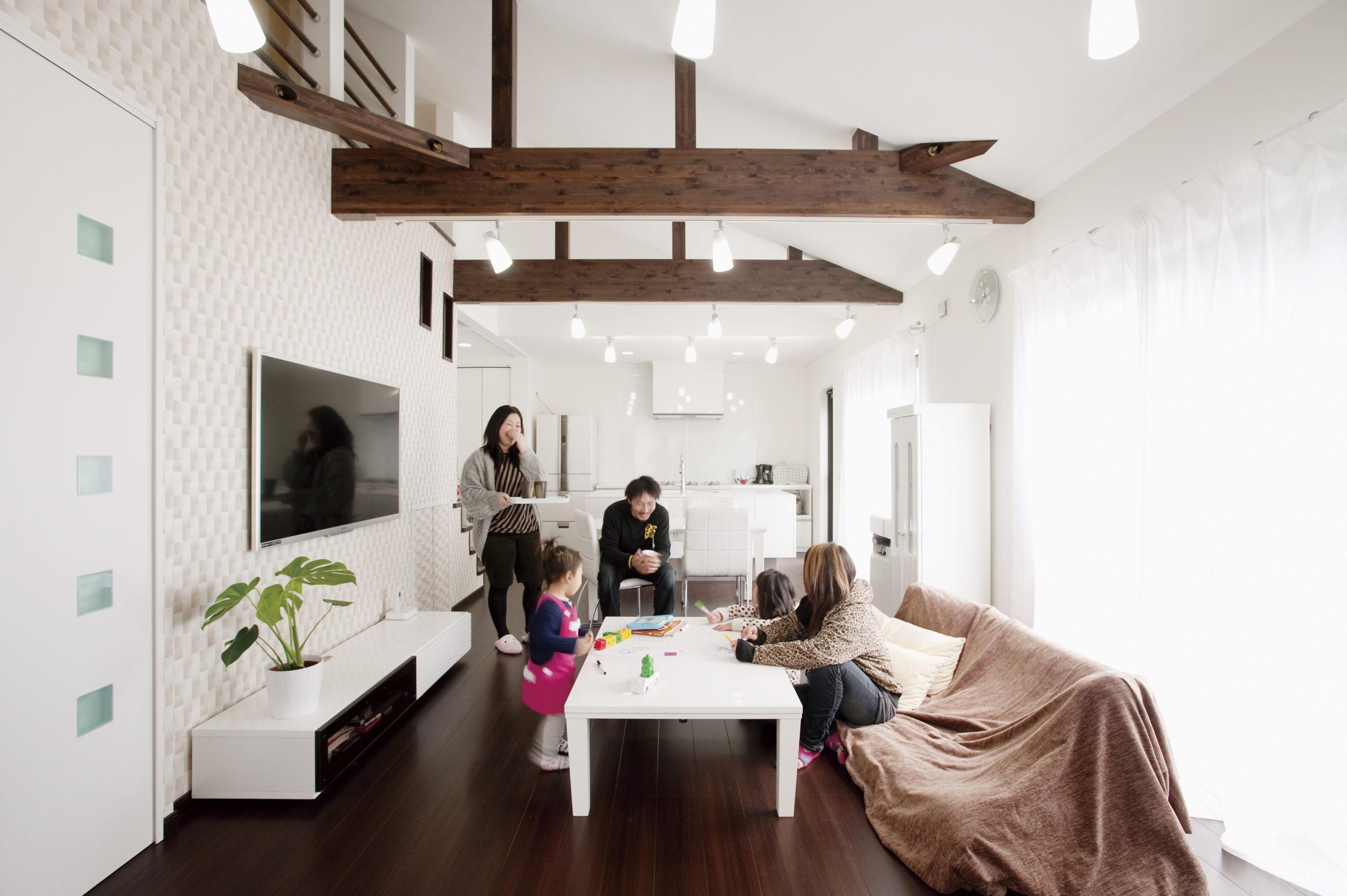 完全分離型 二世帯住宅独立性を保った二世帯住宅