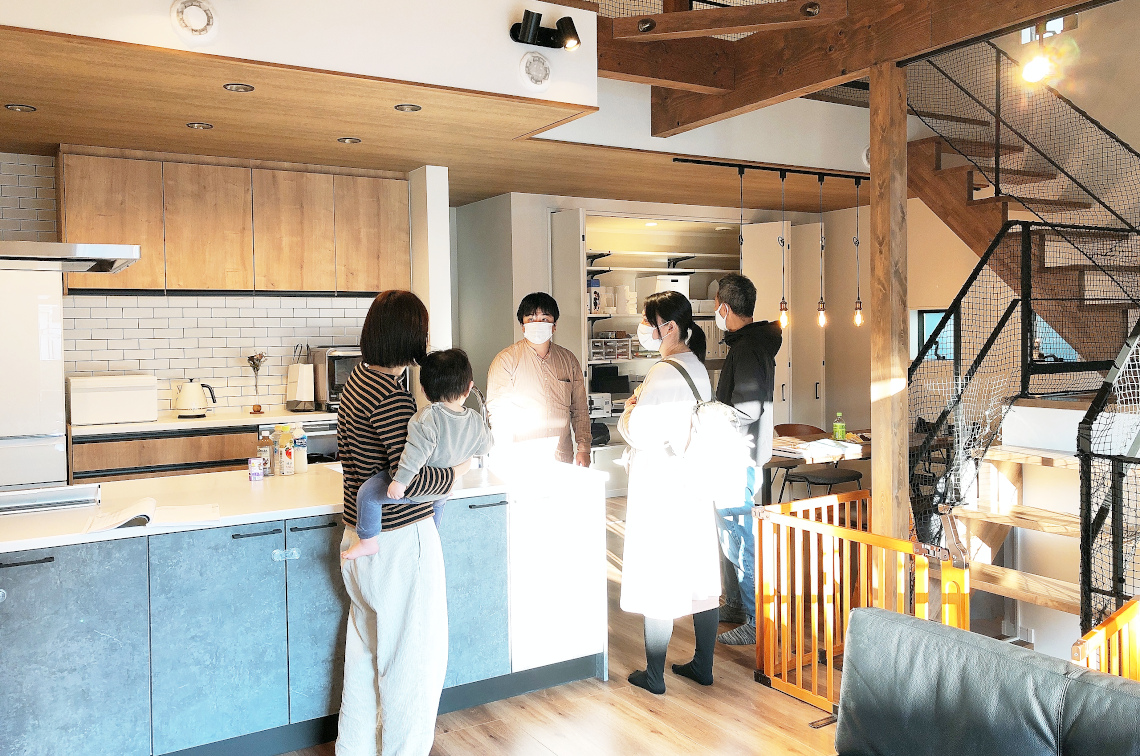 【2021/2/14開催】第6回・OB様お宅訪問見学会 in藤沢市<br>【完全ご予約制】