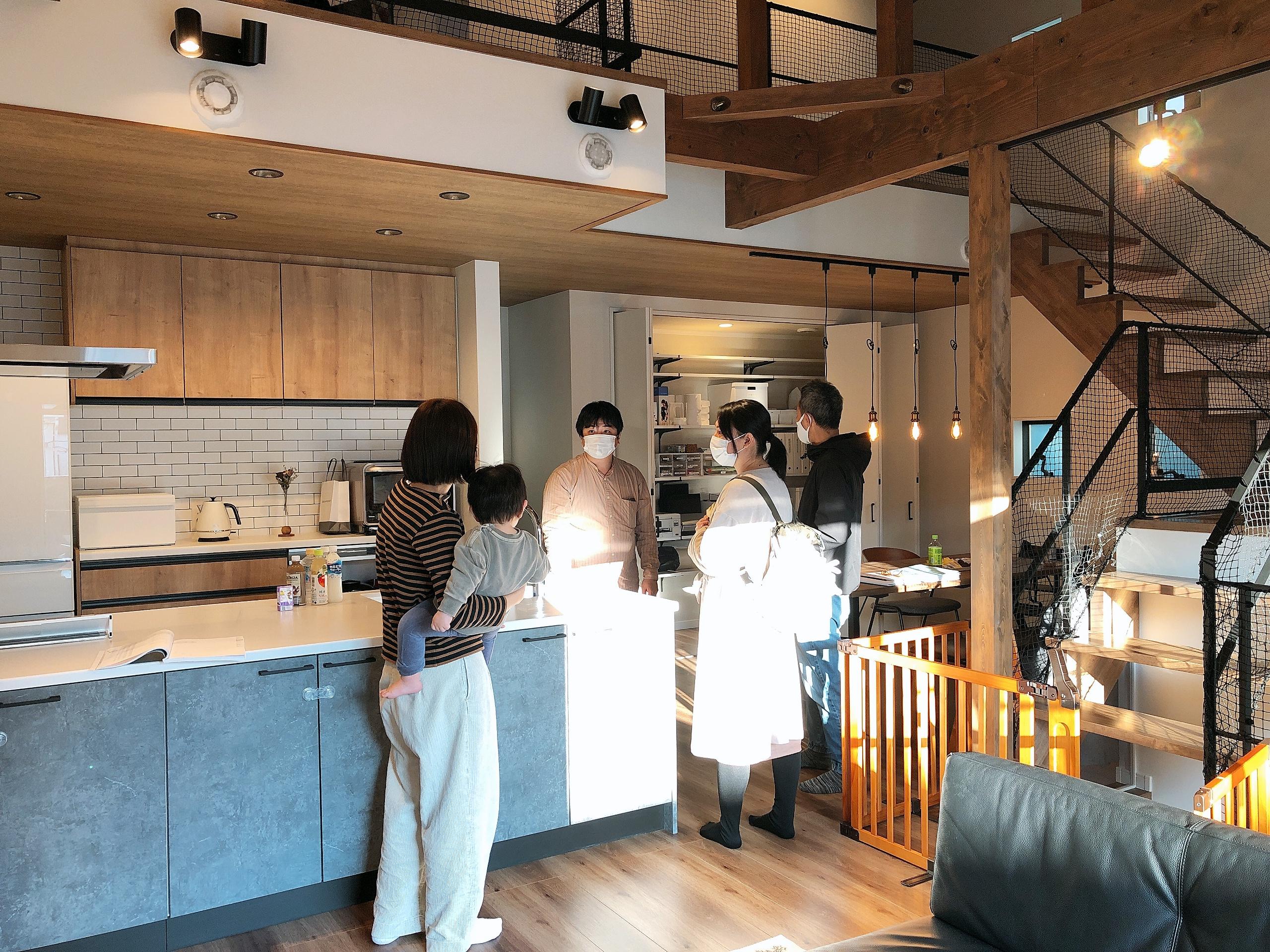 【2021/2/14開催】第6回・OB様お宅訪問見学会<br>【完全ご予約制】