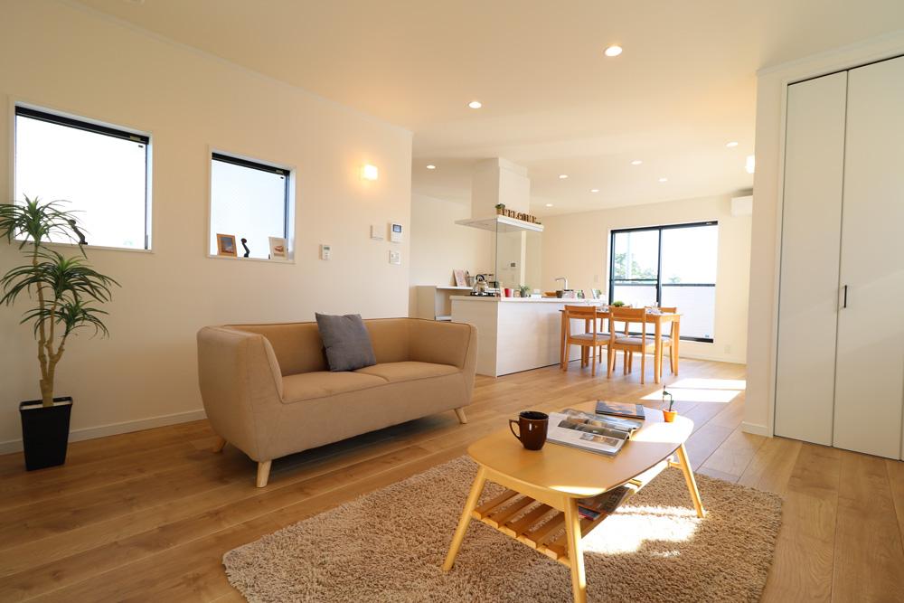高性能エコ住宅冬は暖かく・夏は涼しい家