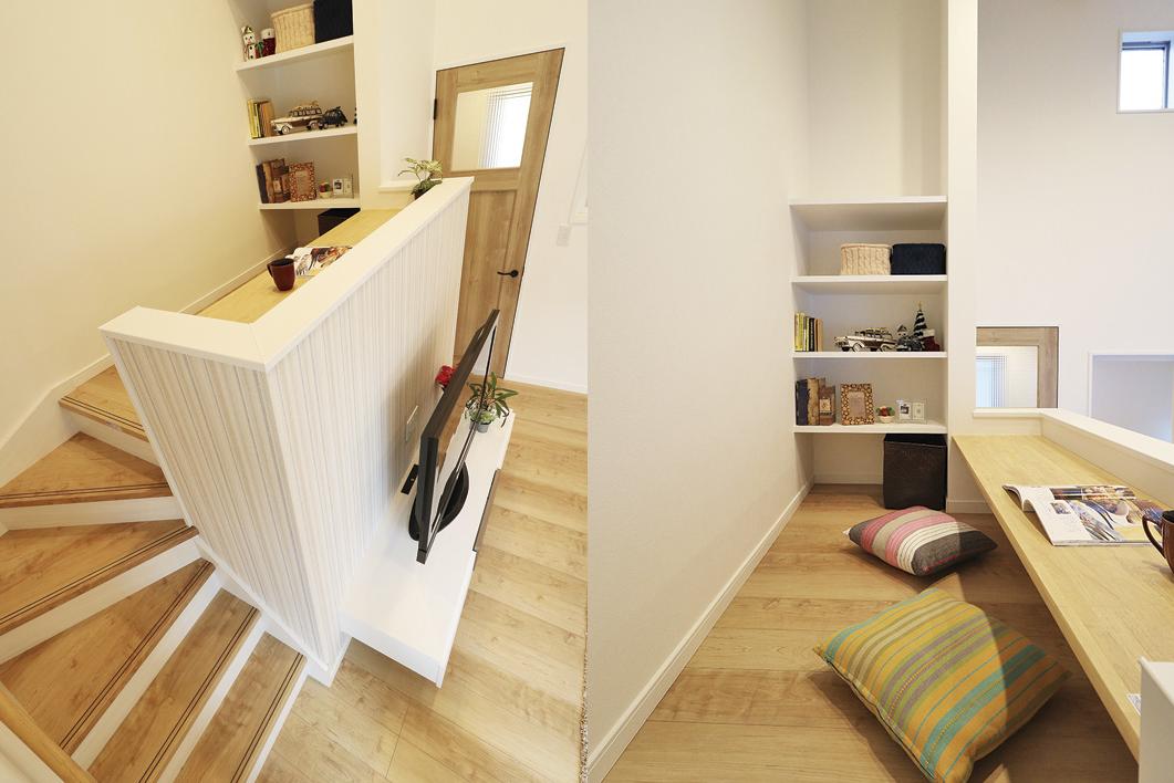 【当社建物施工例】テレワークや趣味の作業に使える書斎2