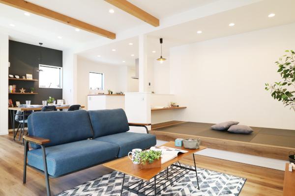 豊富な収納と家事導線の良さで家にいる時間が楽しくなる家