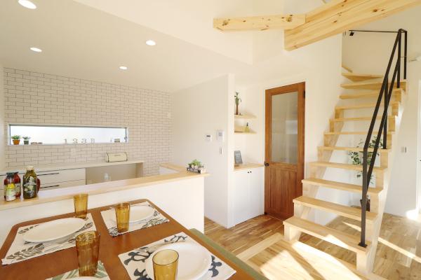 効率的な動線で家事もラク充実の収納でスッキリ住まい